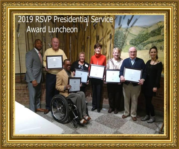 Sally RSVP Presidential Service Award